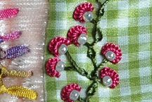 All things FABRIC  ~ Doilies, Embroidery, Sewing ~  / . / by Carole B. Strumsky