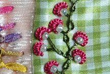 Embroidery / Puntos y esquemas de bordado / by María Sol Carballeira Portela