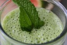 Food I eat everyday / Glowing green smoothie / by Krista van Zeyl
