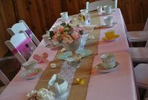 Pretty In Pink Tea Parties