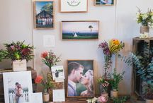 Wedding photography stall booth