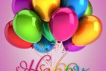Birthdays ...