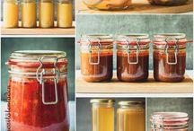 Eingelegt und Marmelade