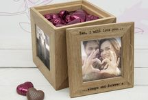 Wedding Anniversary Gifts / Our personalised and stylish gifts are the perfect way to show the happy couple your love and affection for them and provide a heartfelt memento from their special day.