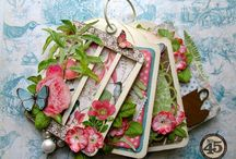 Scrapbooking Graphic 45 Botanical Tea