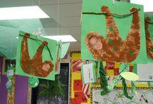 Rainforest crafts