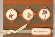 Cards - Thanksgiving / by Joyce Dillon