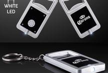 LED Flashlight Bottle Opener Keychain