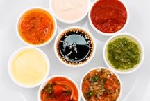 healthy dips, dressing and sauce