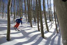 Colorado Backcountry Skiing / Backcountry snowcat skiing in Colorado.