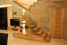 Treppen mit Stauraum