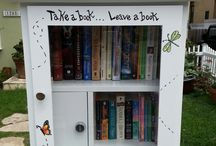 Little Free Library / Different ideas for when we do ours