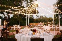 Wedding fairy lights / lights ideas