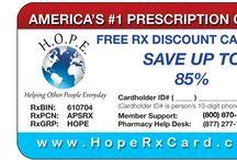 Free Discount Prescription Cards HopeRx