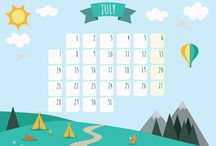 Tipi Time Calendar / Download and print the calendar prepared by Tipi Time!