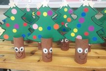 Natal sala de aula