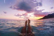 tenger, nyár