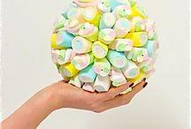 COMPOSIZIONI CON LE CARAMELLE / tutto ciò che si può realizzare con le caramelle