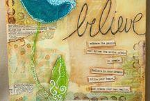 Art journalling inspiration