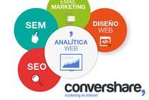 Estrategia Online / Los Convers creemos en la conversión y trabajamos para conseguirla. Diseñamos la estrategia que más conviene a tu proyecto en función de tus objetivos y te ayudamos a poder implementarla.
