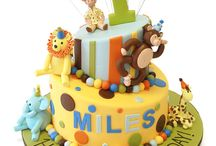 Jungle & Safari Themed Cakes / by Pink Cake Box