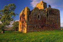 Roxburgh Castle Scotland