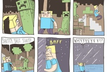 kids love minecraft / by Brooke