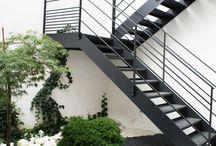 utendørs trapp