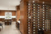 Old World Kitchens (Kitchen Cellar) / British Columbia based design company, Old World Kitchens uses vin de garde's custom nek rite 2 hardware system to design an immaculate kitchen cellar!