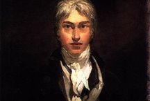 J.M.William Turner(1775-1851)_english romanticism / The sun is god. Human and Nature. Sublime art
