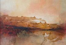 Hills profile / the painting on the abstract landscapes at http://digilander.libero.it/artsergio/ENGLISH/