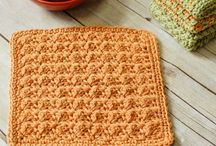 Crochet - dishcloths, hot pads, scrubbies, washcloths / crochet dishcloths, crochet pot holders, crochet hot pads, crochet washcloths, crochet scrubbies