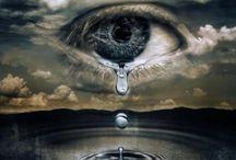 #Art ~ Tears / Amazing #Art ~ Amazing #Photos  ~ Amazing ~ #Creations #Art ~  #Kunst ~ #Foto  ~ #Tränen der Freude und der Trauer ~ #Emotionen unseres Seins...  www.astridbrouwer.de / by Astrid Brouwer
