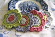 Knitted & crocheted coasters