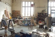 artists and their studios