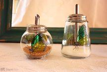 Azúcar. Sugar. / Diseño sobre cristal pintado a mano. Glassware design handpainted.
