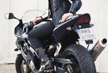 Biker babe