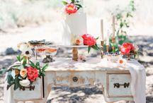 Wedding Cakes & Candy Bar / Hochzeitstorten und Sweet Tables