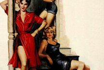Pulp-Art by COPELAND, Charles / 1924 -