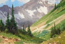 góry krajobrazu