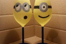Ποτήρι Κρασιού-μπουκάλι