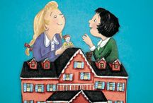 THE DOLL HOUSE MAGIC / This is a book for children set in the Great Depression about two little girls who badly want a doll house of their very own...