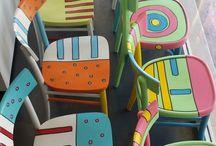 decorazioni sedie
