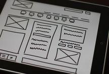 Tips do Design Gráfico  / Painel com diversas dicas sobre design gráfico.