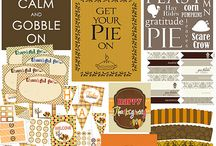 Thanksgiving / Thanksgiving games, planners, crafts, recipes, art