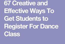 dance studio tips