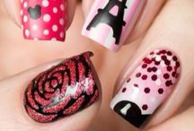 Country/tourism/city nail art