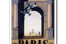 Vintage Travel Posters/cards