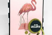 Stampin' Up! Flamingo Fantasie · Fabulous Flamingo