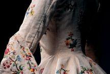 Suknie - XVII w